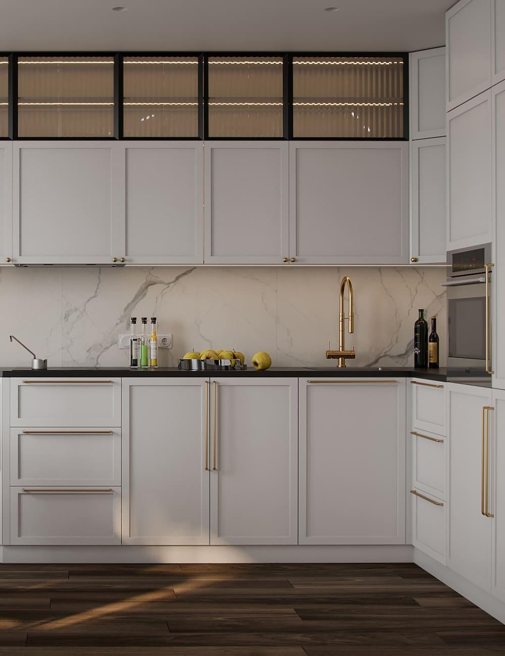 дизайн кухни в современном стиле фото 70