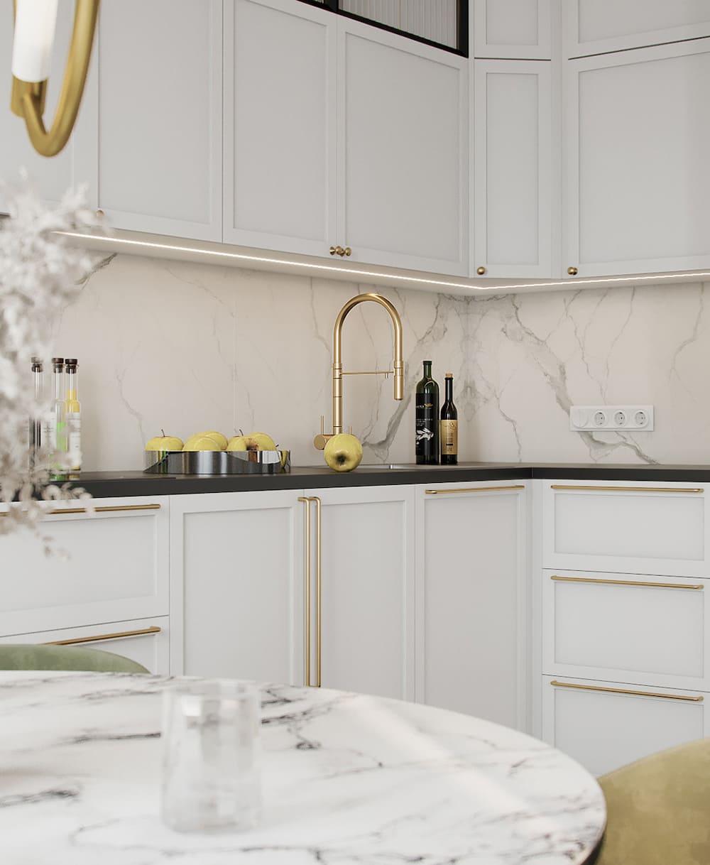 дизайн кухни в современном стиле фото 72