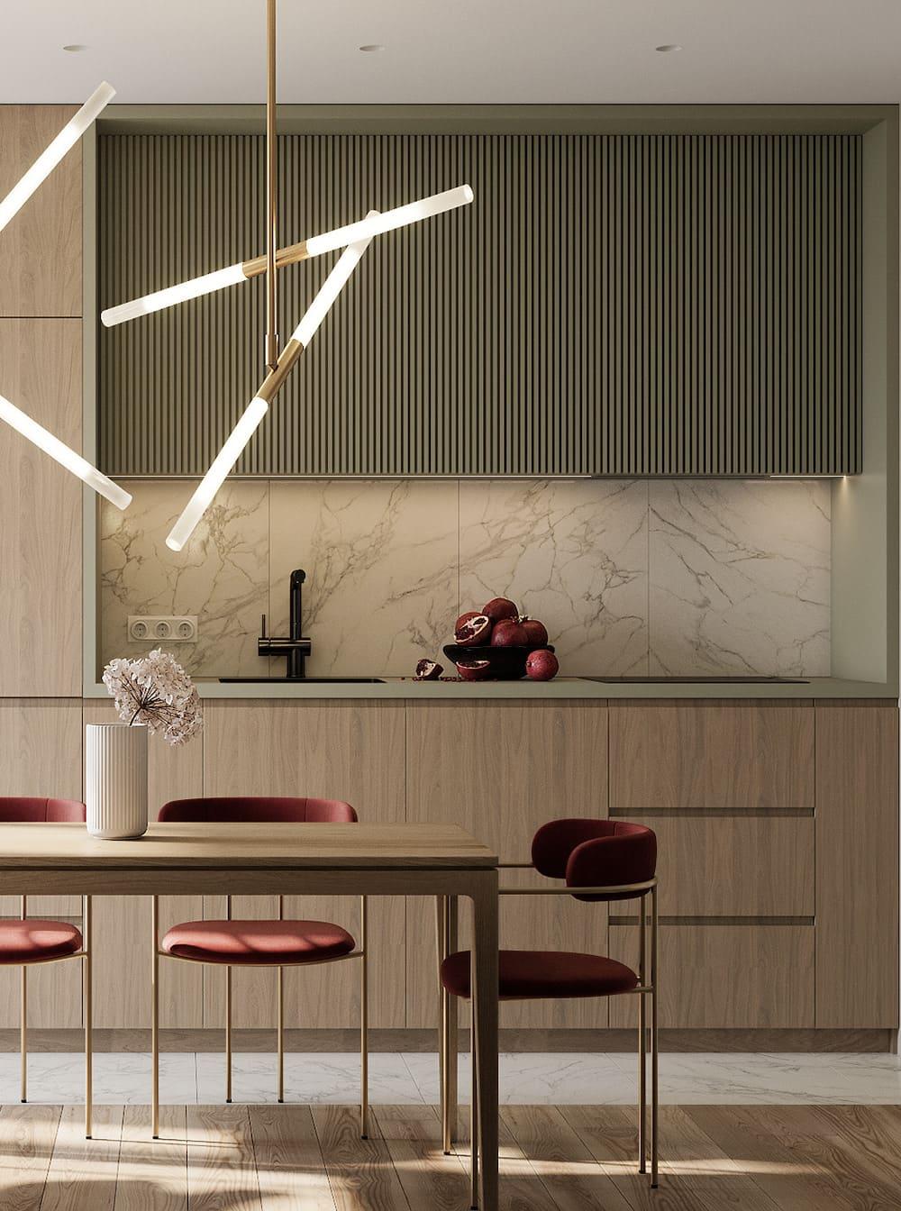 дизайн кухни в современном стиле фото 19