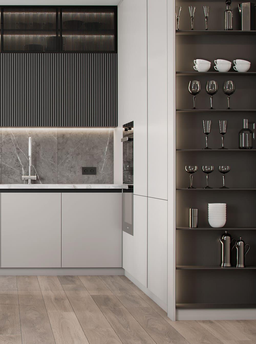 дизайн кухни в современном стиле фото 5