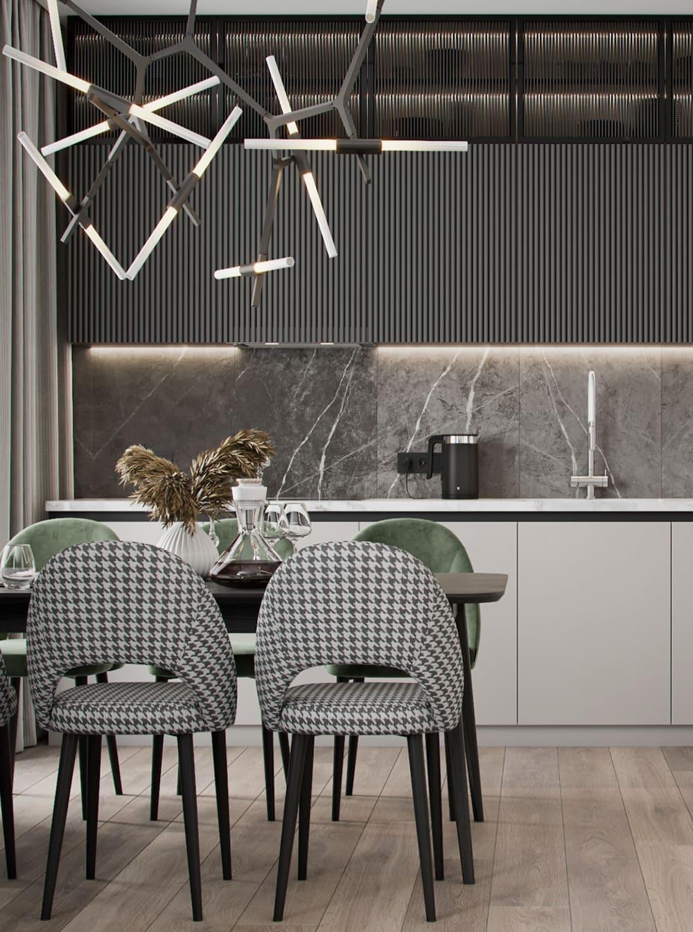 дизайн кухни в современном стиле фото 2