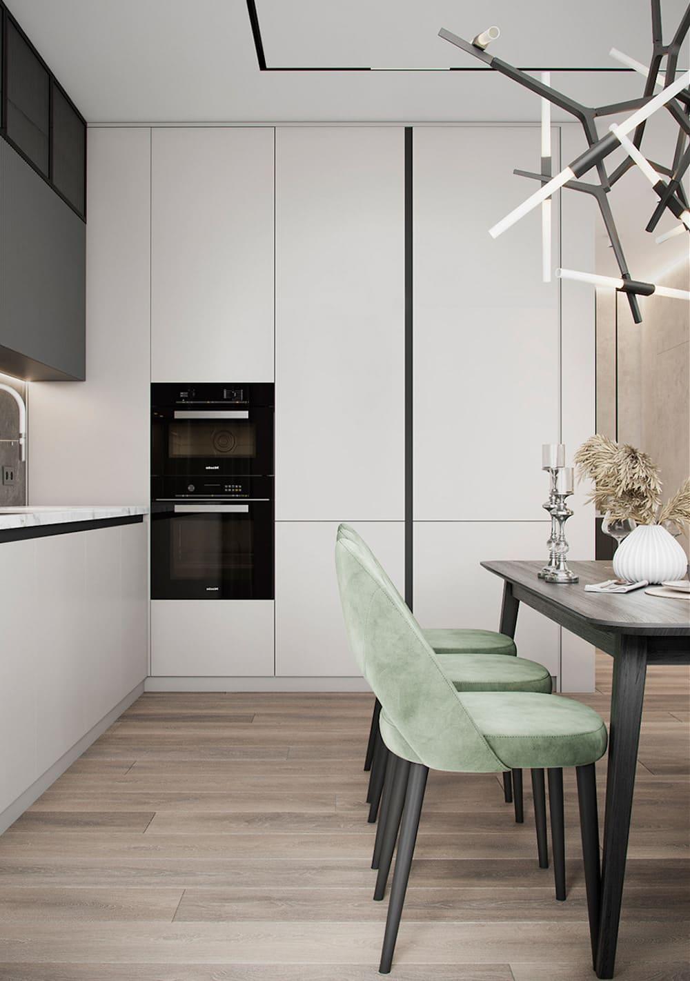 дизайн кухни в современном стиле фото 6