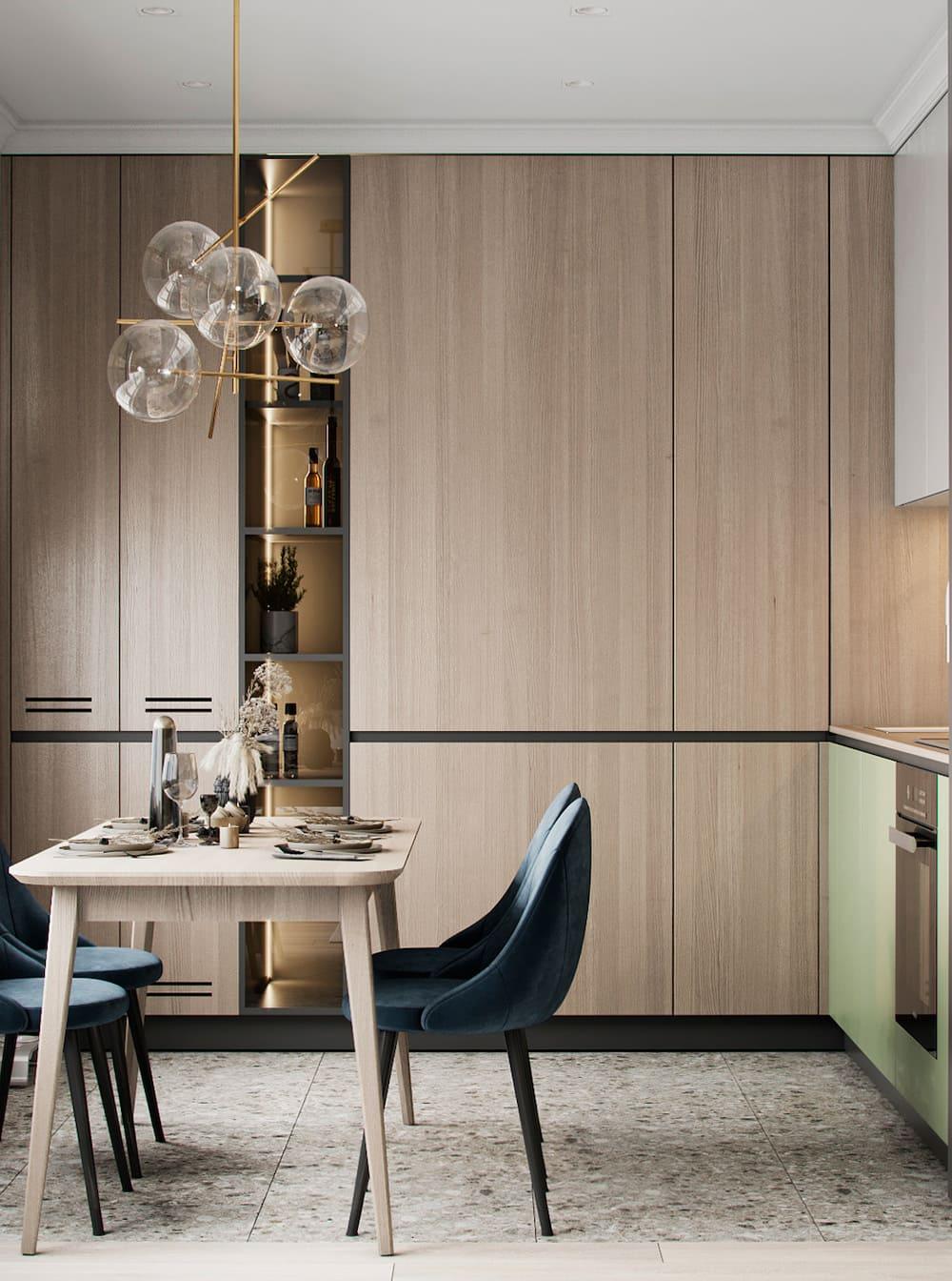дизайн кухни в современном стиле фото 42