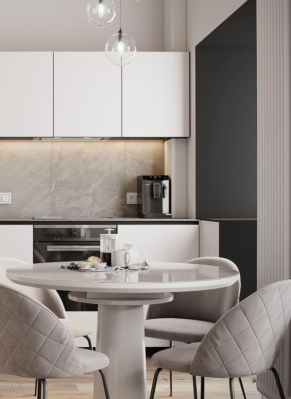 дизайн кухни в современном стиле фото 27