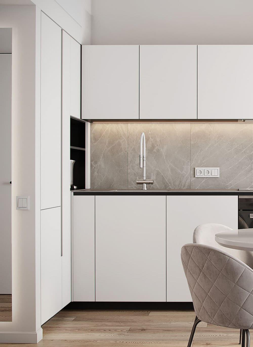 дизайн кухни в современном стиле фото 28