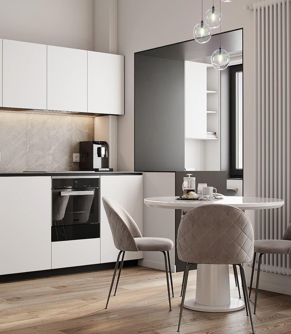 дизайн кухни в современном стиле фото 29