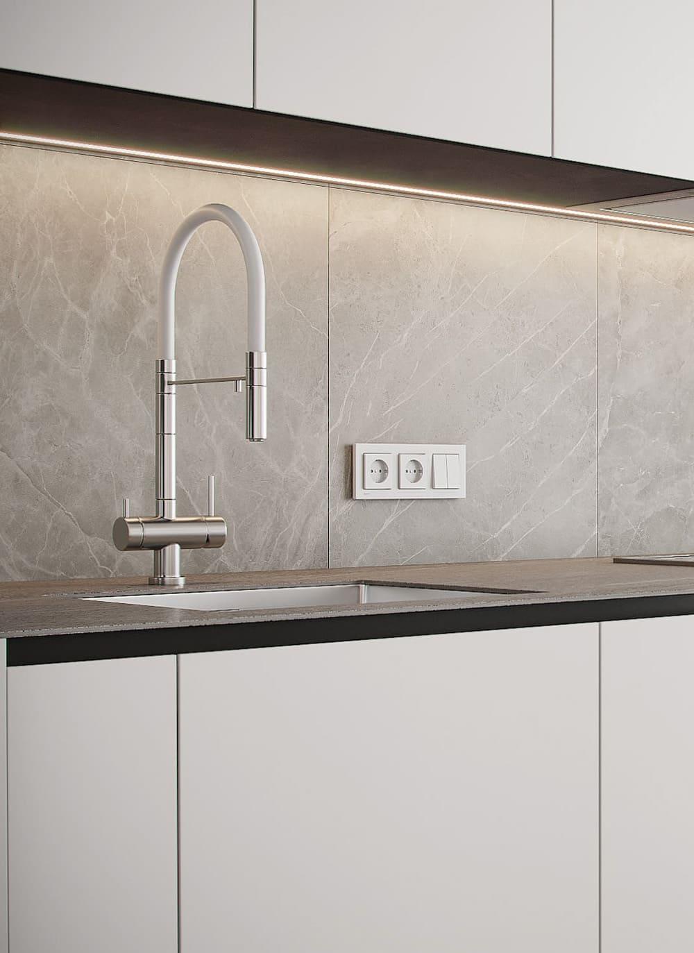 дизайн кухни в современном стиле фото 30