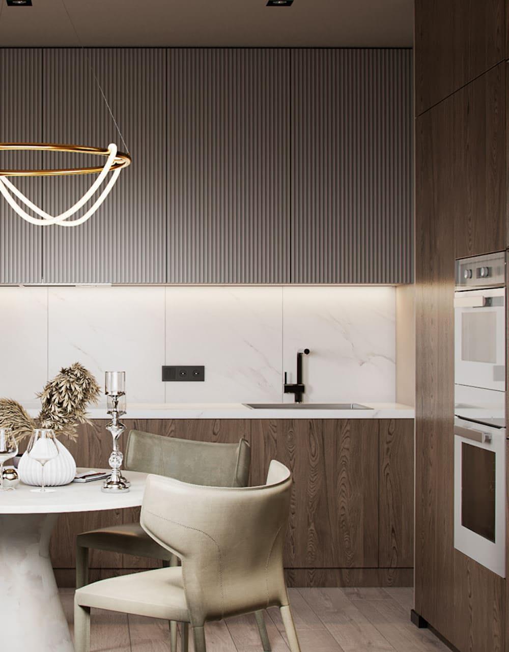 дизайн кухни в современном стиле фото 31