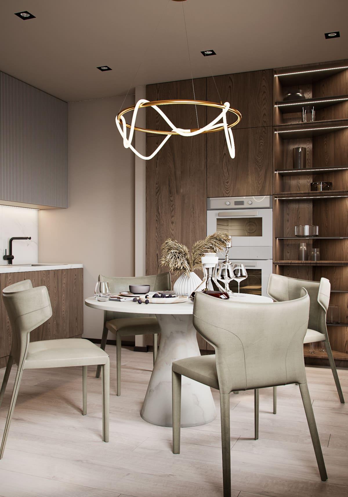 дизайн кухни в современном стиле фото 32