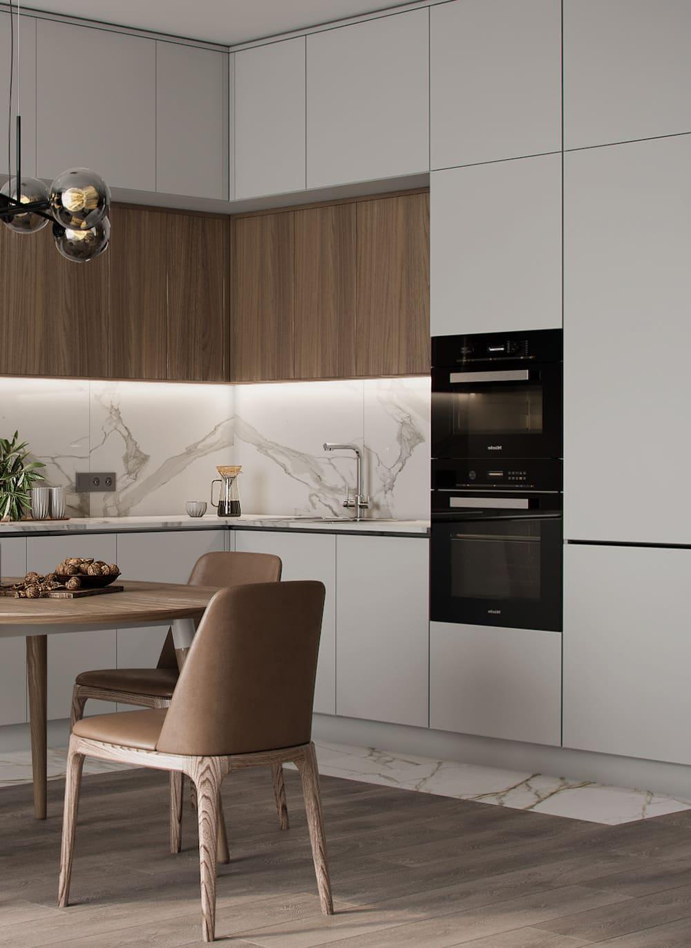дизайн кухни в современном стиле фото 73