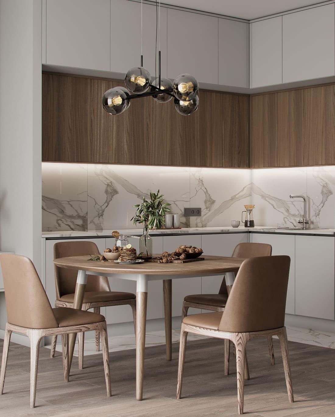 дизайн кухни в современном стиле фото 74