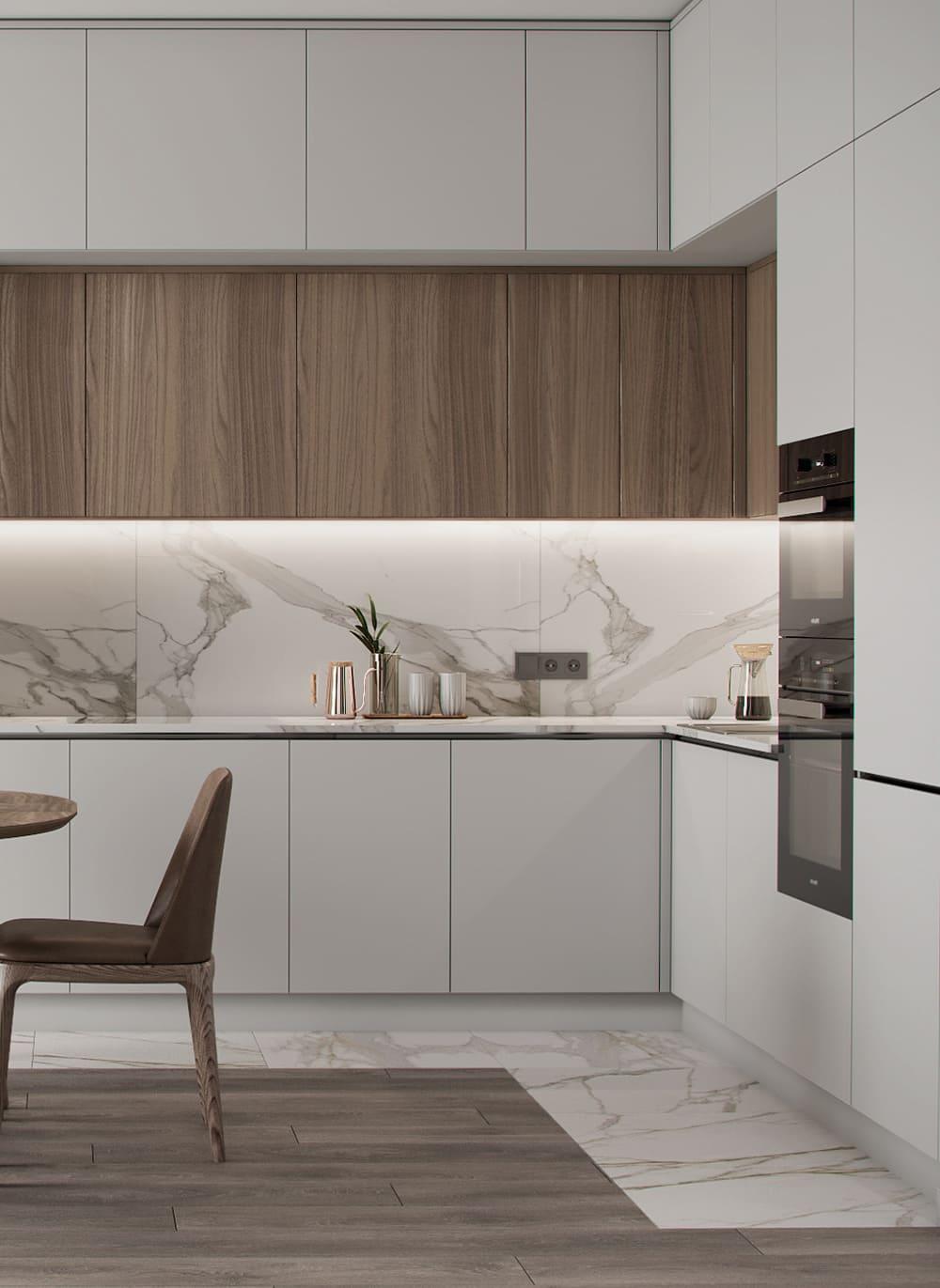дизайн кухни в современном стиле фото 75