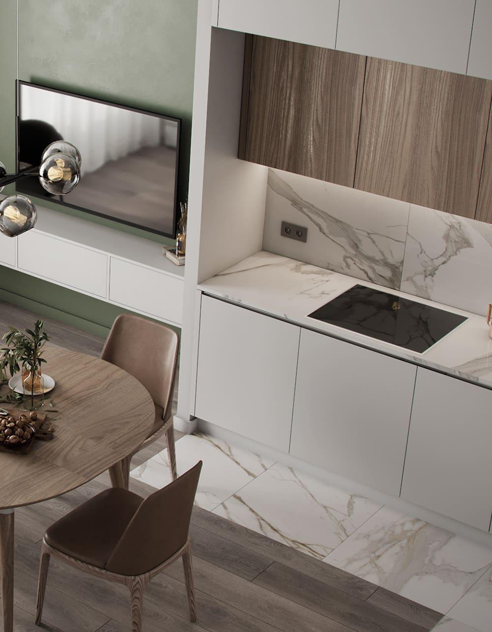 дизайн кухни в современном стиле фото 76