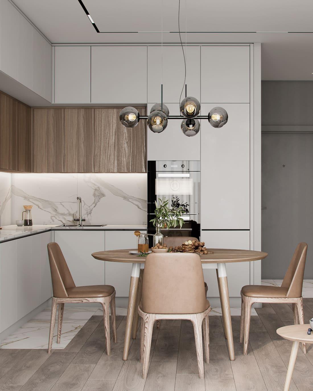 дизайн кухни в современном стиле фото 77