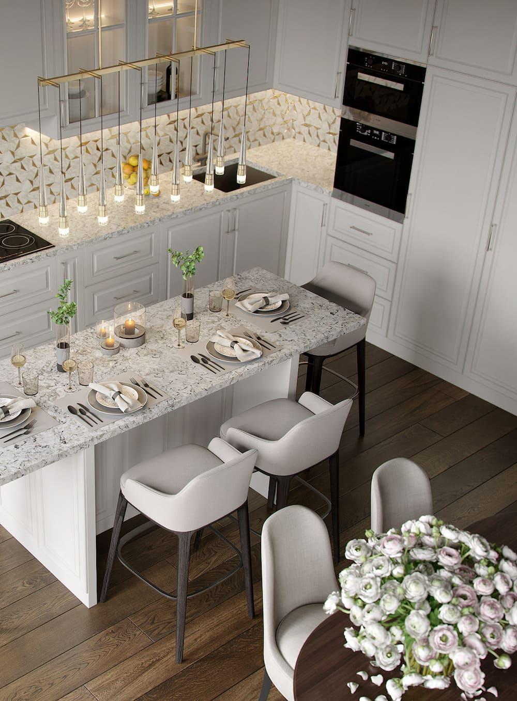 дизайн кухни в современном стиле фото 25