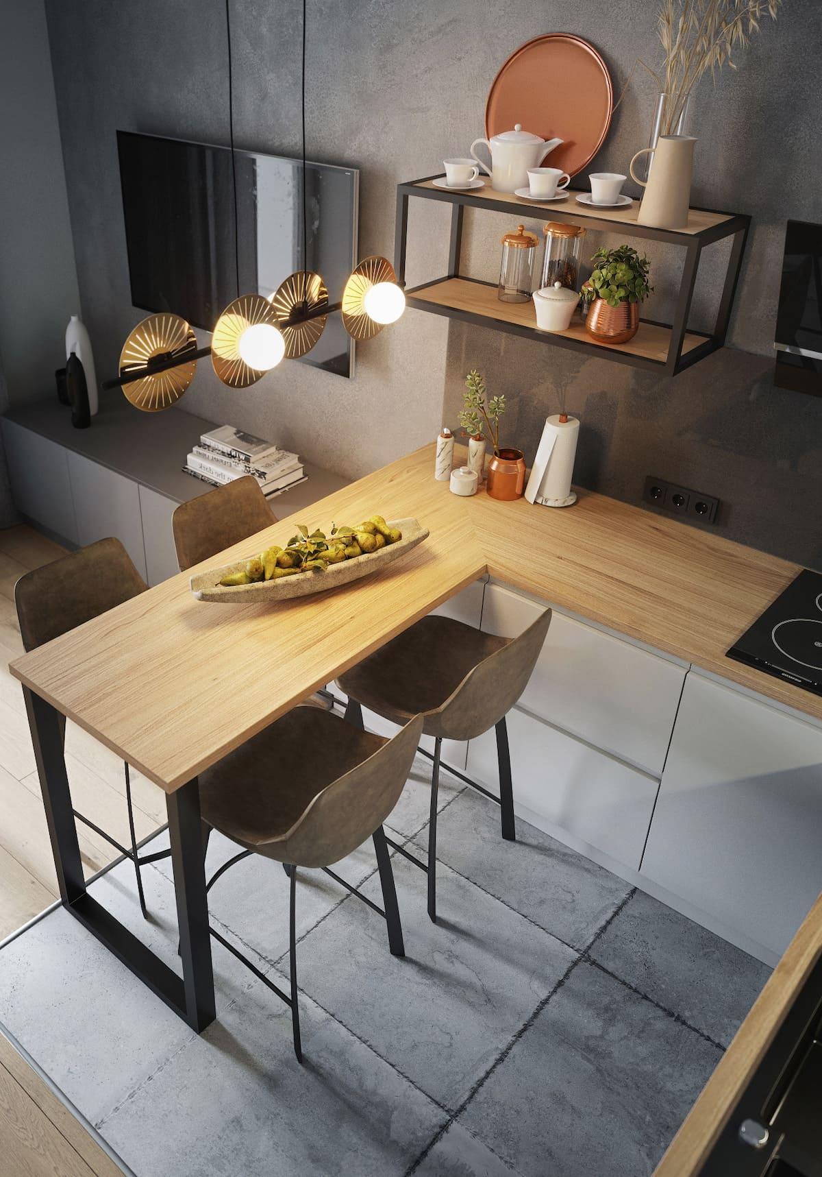 дизайн кухни в современном стиле фото 92