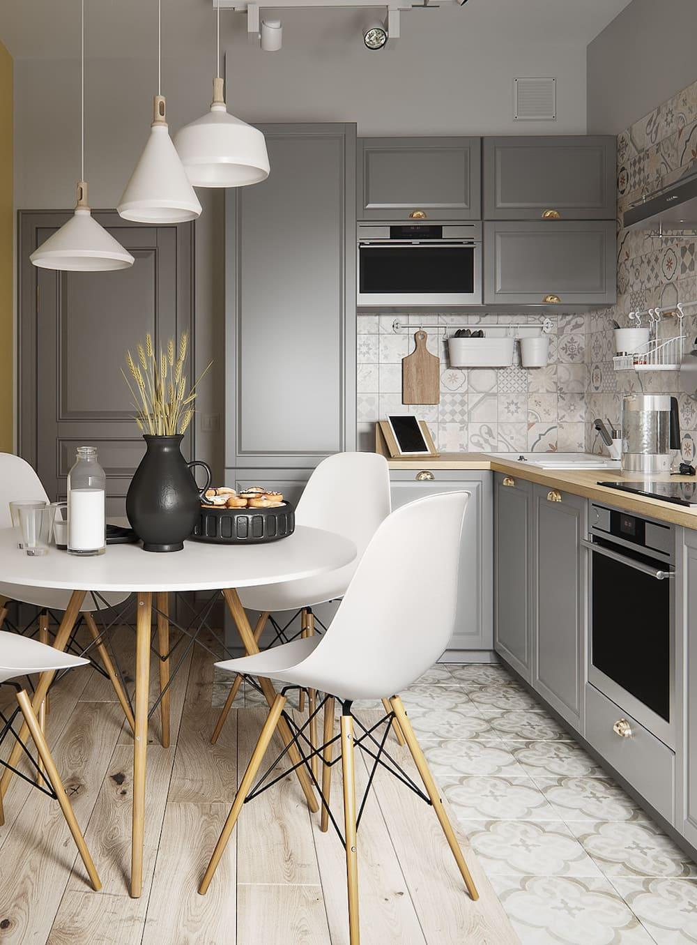 дизайн кухни в современном стиле фото 38
