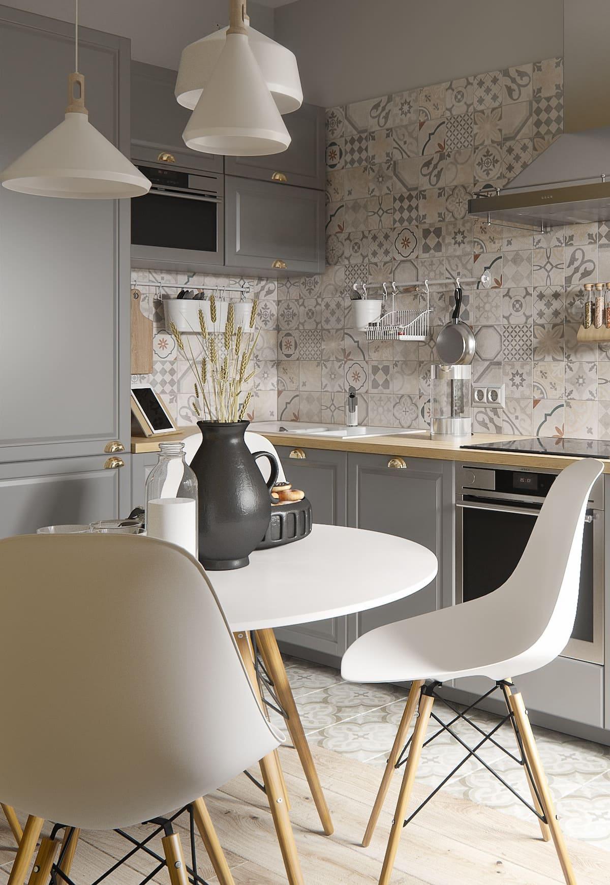 дизайн кухни в современном стиле фото 39
