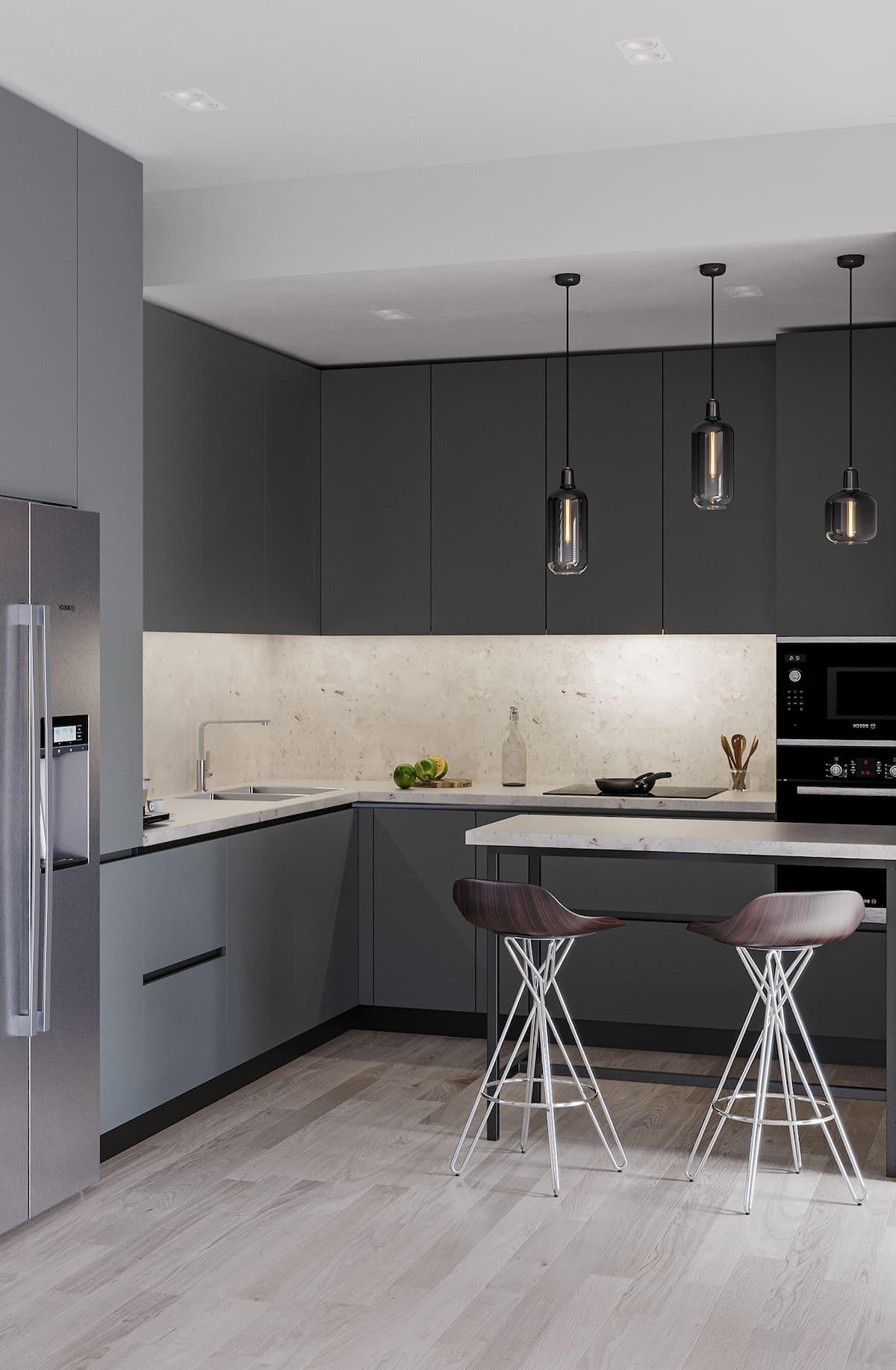 дизайн кухни в современном стиле фото 96