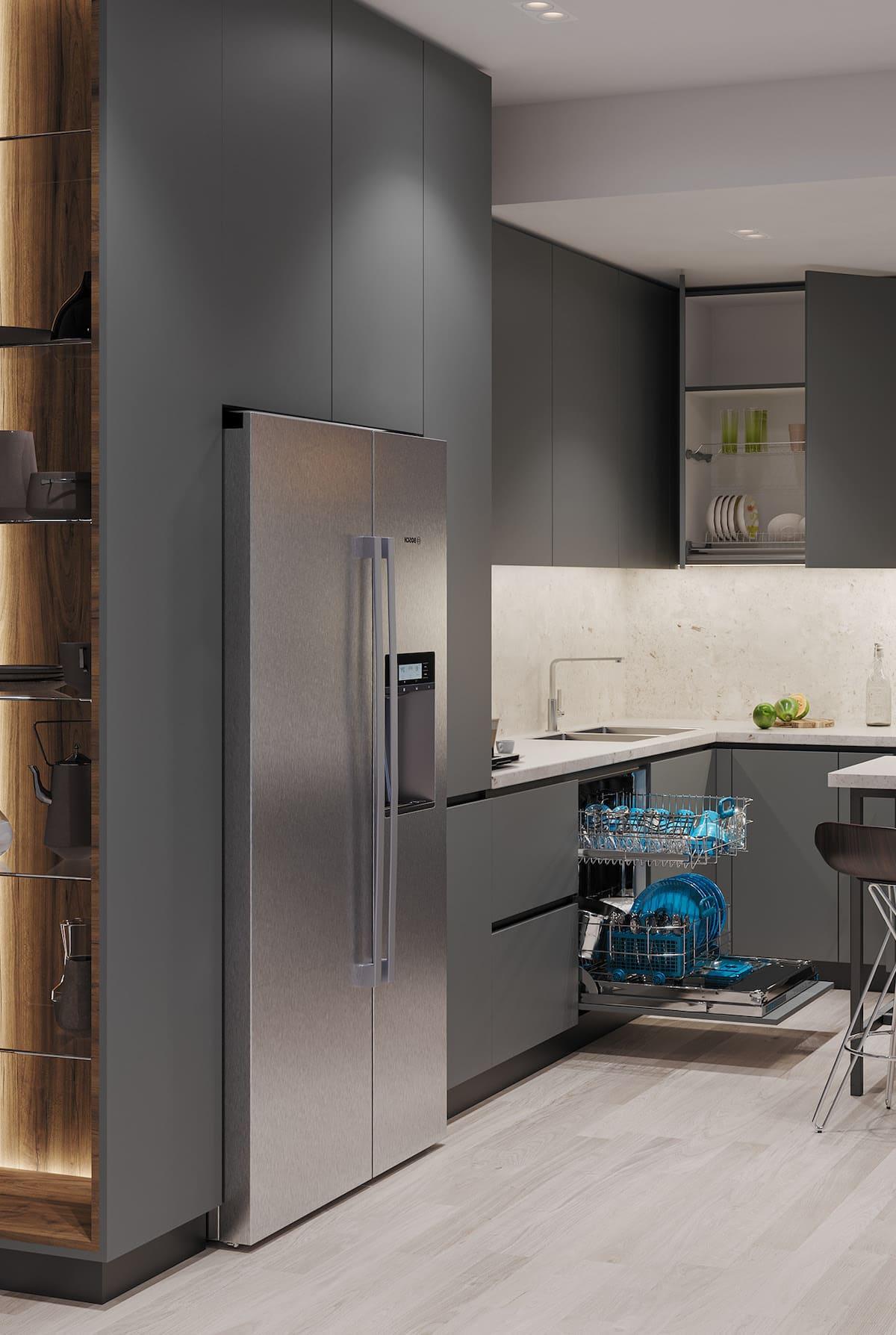 дизайн кухни в современном стиле фото 97