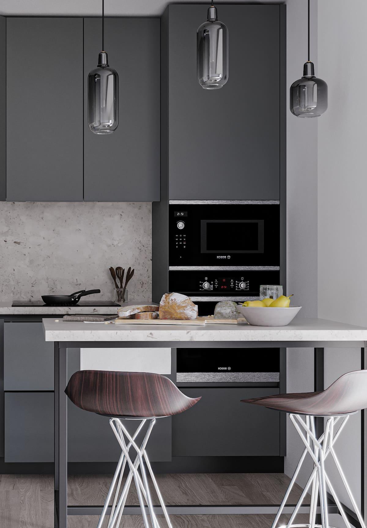 дизайн кухни в современном стиле фото 99